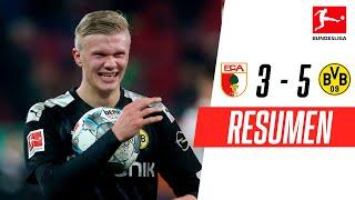 Augsburgo - Borussia Dortmund [3-5] | GOLES | Jornada 18 | Bundesliga
