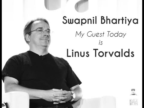 45 minutes with Linus Torvalds