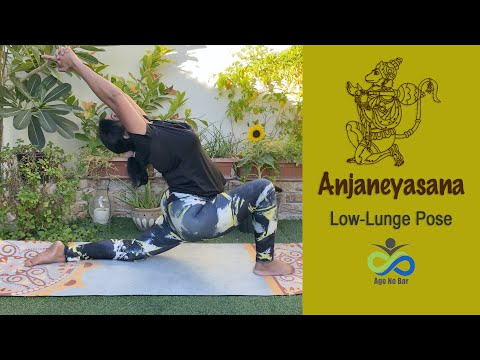 Low Lunge Pose Variations | Anjaneyasana | Flexible Strong Back & Legs