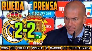 Real Madrid 2-2 Fuenlabrada Rueda de prensa POST (28/11/2017) | Copa del Rey 1/16 Vuelta