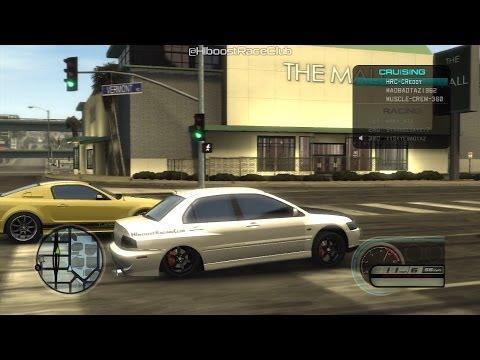 Midnight Club LA (PS3) | Drag Racing A Few Cars (Evo 9s, Skylines, & Mustangs)