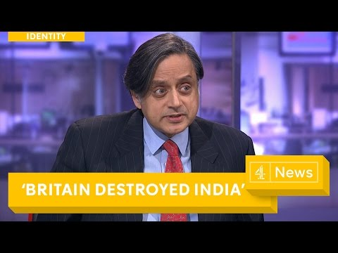 Shashi Tharoor interview: How British Colonialism 'destroyed' India