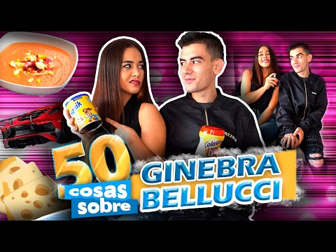 ¡GINEBRA BELLUCCI AGAIN! 50 cosas sobre mí | Jordi ENP