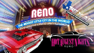 10,000 Classic Cars?! Hot August Nights 2019!