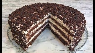 """ТОРТ """"КОФЕ СО СЛИВКАМИ И ШОКОЛАДОМ"""" / CAKE """"COFFEE WITH CREAM AND CHOCOLATE"""""""