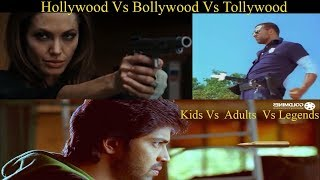 Bullet Logic - Hollywood vs Bollywood vs Tollywood | Death of Logic