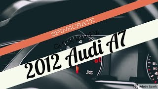 2012 Audi A7 Review & Cost