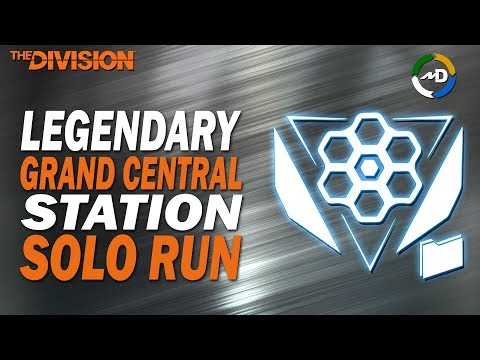 The Division - 1.8.1 - Legendary Grand Central Station - Solo Run - Fun Hunter 1V1
