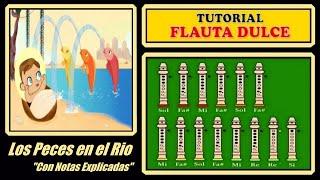 Los Peces en el Rio en Flauta Dulce