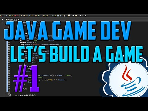 Java Programming: Let's Build a Game #1