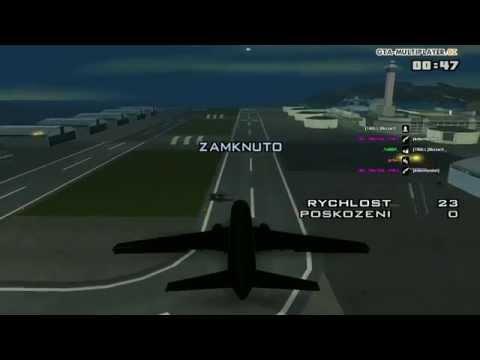 GTA SAMP - Flight with AT-400