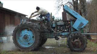 Belarus MTZ-82 restoration project. Part 1 | Removing the Old Cab and Cleaning