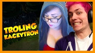 kaceytron getting trolled - League of Legends