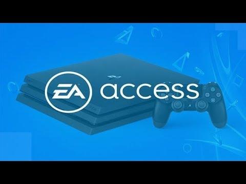 Подписка EA Access на PS4 / Игры ЕА