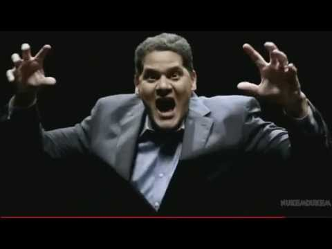 Satoru Iwata vs Reggie Fils- Amine FIGHT Nintendo E3 2014 Press Conference