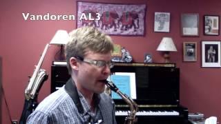Classical Alto Sax Mouthpiece Comparison (Selmer C*, Selmer Soloist, Vandoren Optimum AL3, Zinner)