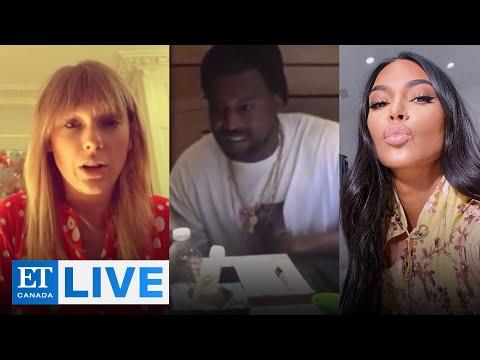 Kim Kardashian, Taylor Swift React To Leaked Phone Call | ET Canada LIVE