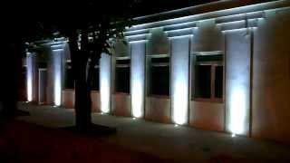 видео Подсветка фасадов (+фото)