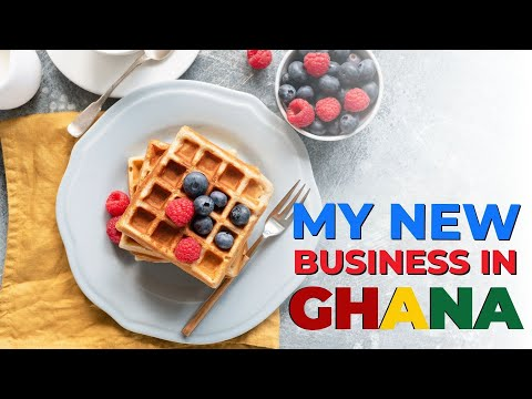 My newest Business venture @East legon after moving to Accra, Ghana from the UK..