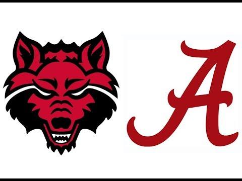 2018 Arkansas State at #1 Alabama (Highlights)
