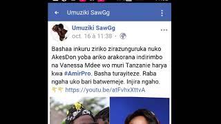 NEW SONG: Vanessa Mdee na Akes Don ndani ya Studio