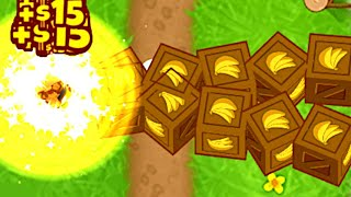 The Modded SUPER-BUFFED Monkey Farmer Is NUTS! (Bloons TD 6)