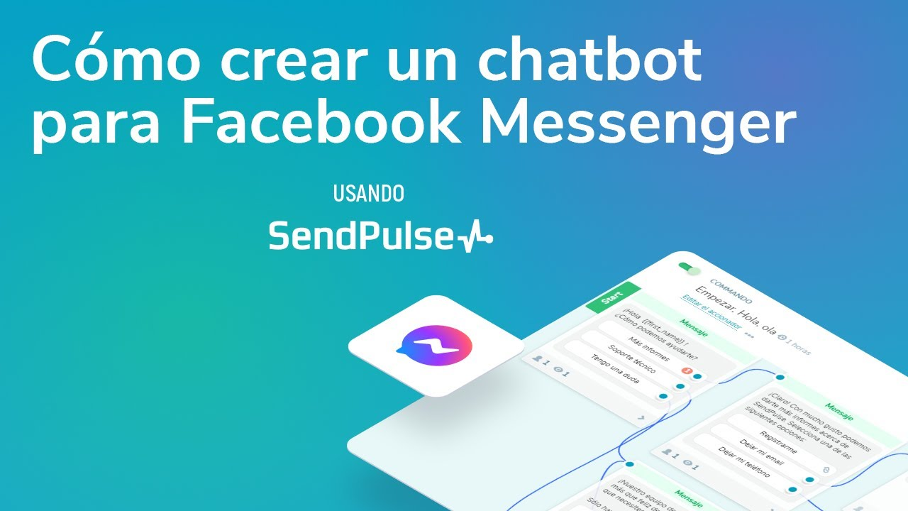 Cómo crear un chatbot para Facebook Messenger usando SendPulse
