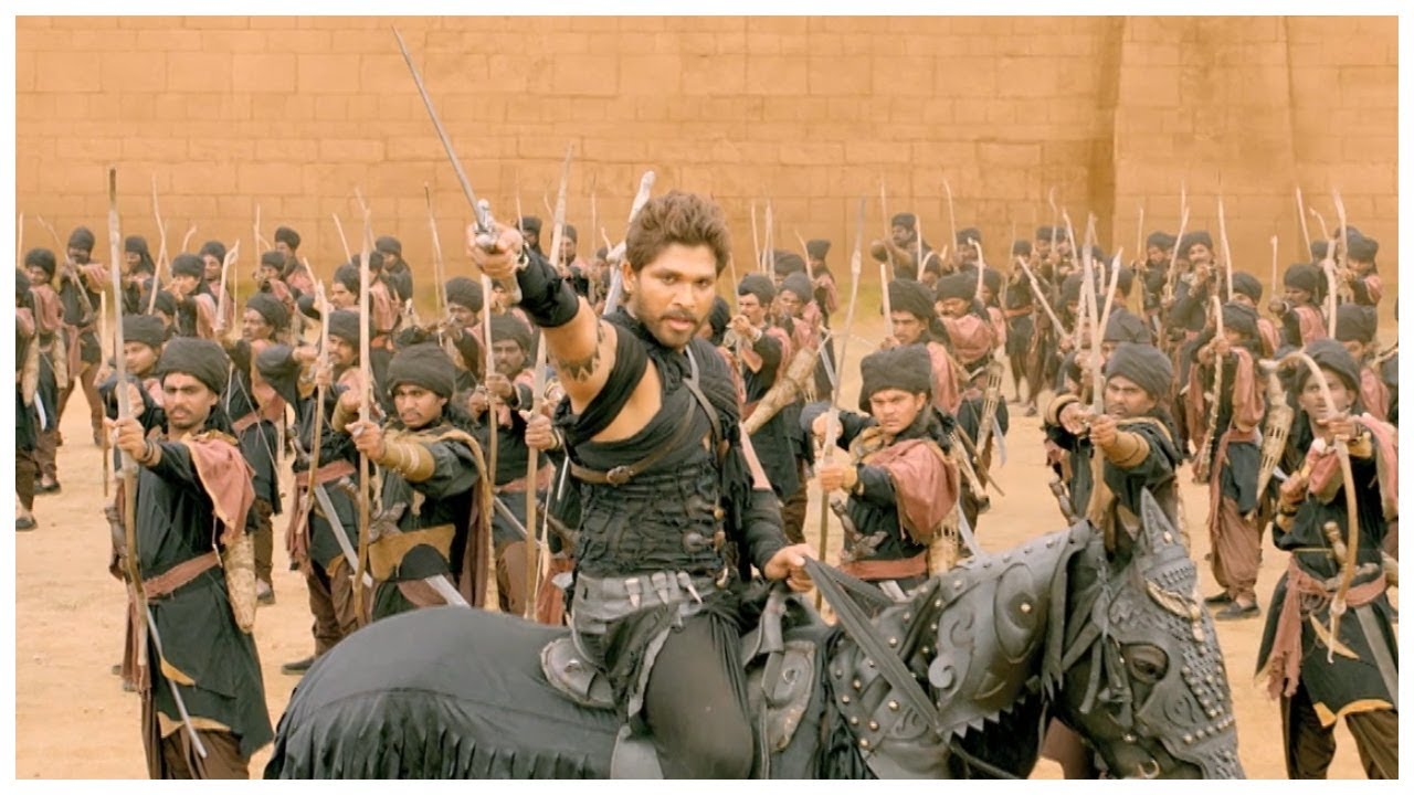 Download Rudrama Devi Malayalam movie l Allu arjun & Anushka shetty fight scene l Mazhavil Manorama