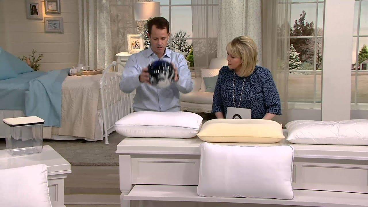 BackJoy Sleep Sound fort Hybrid Pillow on QVC