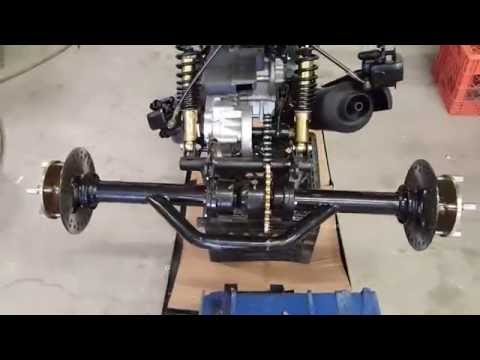 50cc Mean Dogg Trike Scooter Assembly