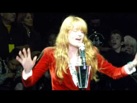 Florence And The Machine ONLY IF FOR A NIGHT Live Acoustic Bridge School Shoreline Mountain View