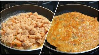 Unique Style Cheesy Bread Omelette Recipe ♥️ | Bread Omelette Recipe ♥️