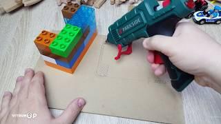 Как сделать гараж для машинок из картона