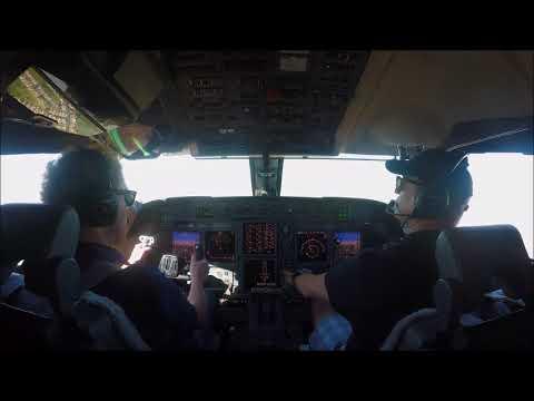 Gulfstream V takeoff and flight around tuscon arizona