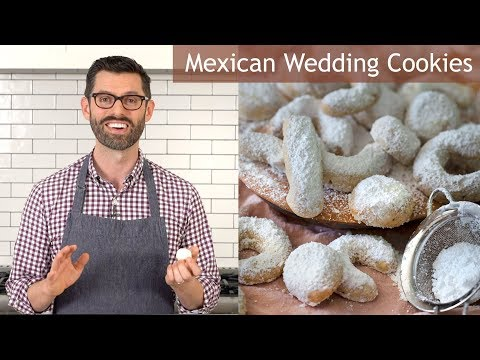 How To Make Mexican Wedding Cookies | Polvorones
