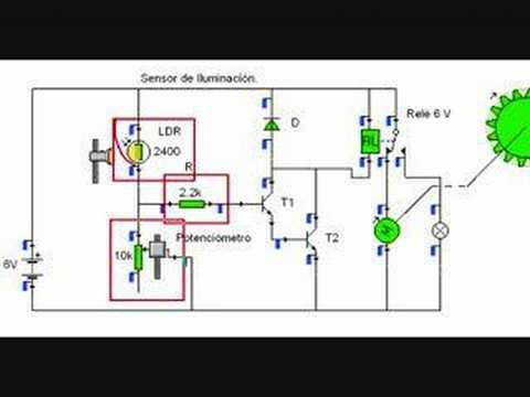 Sensor De Iluminaci 243 N Youtube
