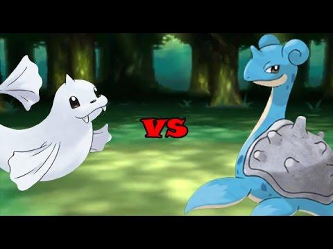 dewgong vs lapras youtube
