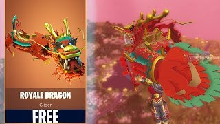 New ROYALE DRAGON GLIDER In FORTNITE! HOW TO GET FOR FREE!!