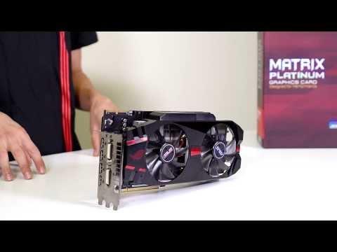 ASUS MATRIX Platinum R9 280X Graphics Card Overview