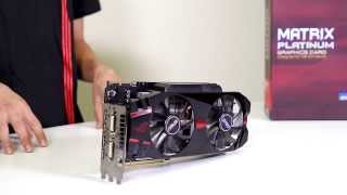 asus matrix platinum r9 280x graphics card overview