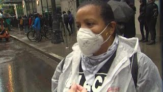 """""""They hijacked our protest."""" Seattle activist denounces violent demonstration"""