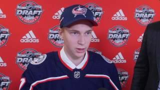 2017 NHL Draft: Pick #86 Daniil Tarasov