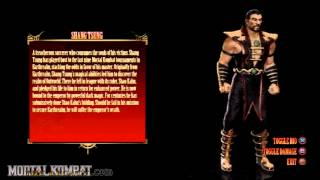 Mortal Kombat (2011) - Playstation 3 & Xbox 360 - Shang Tsung - Biography