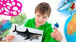 Монстры! Акула -убийца, Монстр Хай и Русалки! Видео для детей. ИгроБой Тимур