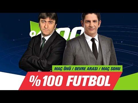 % 100 Futbol Galatasaray-Aytemiz Alanyaspor 25 Aralık 2016