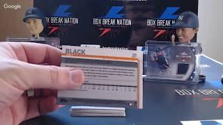 2019 Topps Series 1 - Test Video - Box Break Nation - Ethernet and New Light