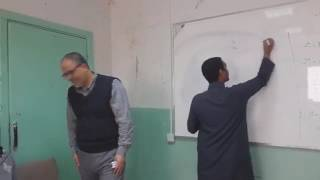 درس نموذج في مادة الرياضيات بمدارس الرواد بريدة بعنوان دوال التغير تحت إشراف أ  محمود عيسى