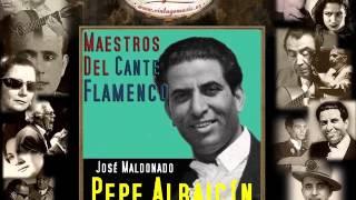 Pepe Albaicín - Baladilla de los Tres Rios (Milonga de Federico García Lorca) (Flamenco Masters)