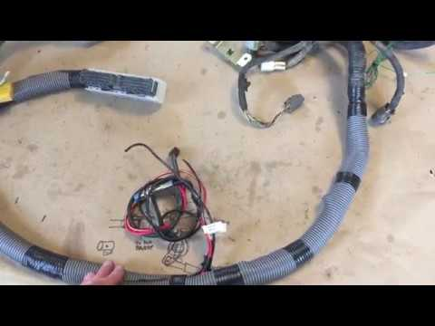 hqdefault 1995 subaru legacy wiring harness vw conversion youtube subaru wiring harness at gsmx.co
