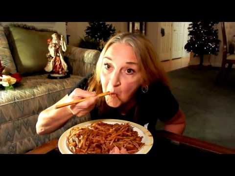 MUKBANG VEGAN MAMA MI'S EATING SHOW VEGAN JAJANGMYEON (BLACK BEAN NOODLES) PLANT BASED